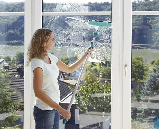 ciscenje prozora sa teleskopskom drskom